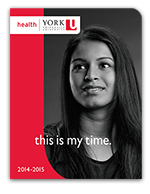 2014 - 2015 Faculty of Health Brochure