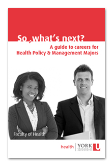 A guide to careers for Health Policy & Management Majors