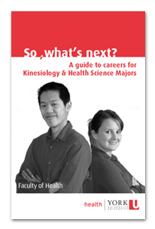 A guide to careers for Kinesiology & Health Science Majors