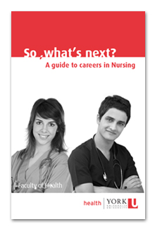 A guide to careers in Nursing