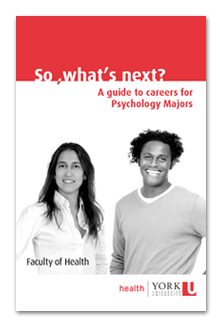 A guide to careers for Psychology Majors