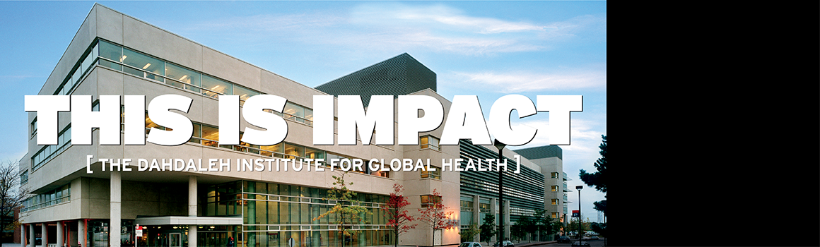 Dahdaleh Institute for Global Health at York University officially announced