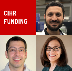CIHR funding - Ali Abdul Sater, Mary Fox, Michael Rotondi